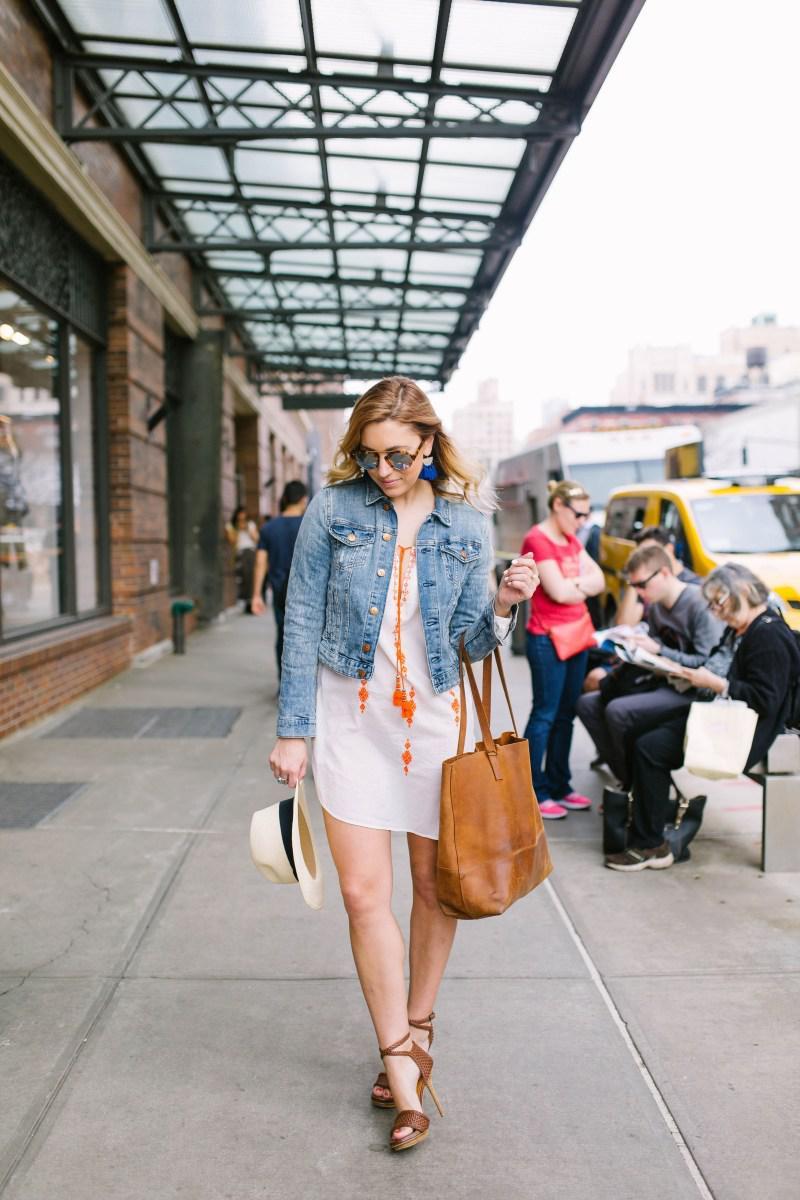 image6-11 | Как носить джинсы этой весной — 39 образов с фото