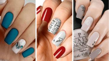 Весенние идеи маникюра на квадратные ногти