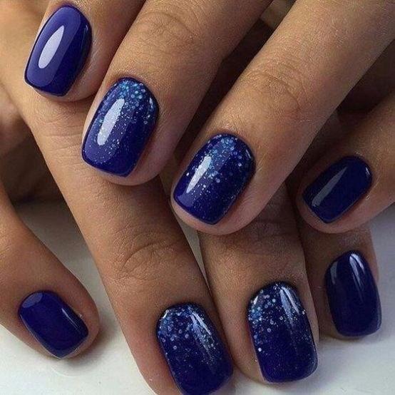 image6-9 | 37 идей синего маникюра на ногти разной формы и длины — найди лучшее решение