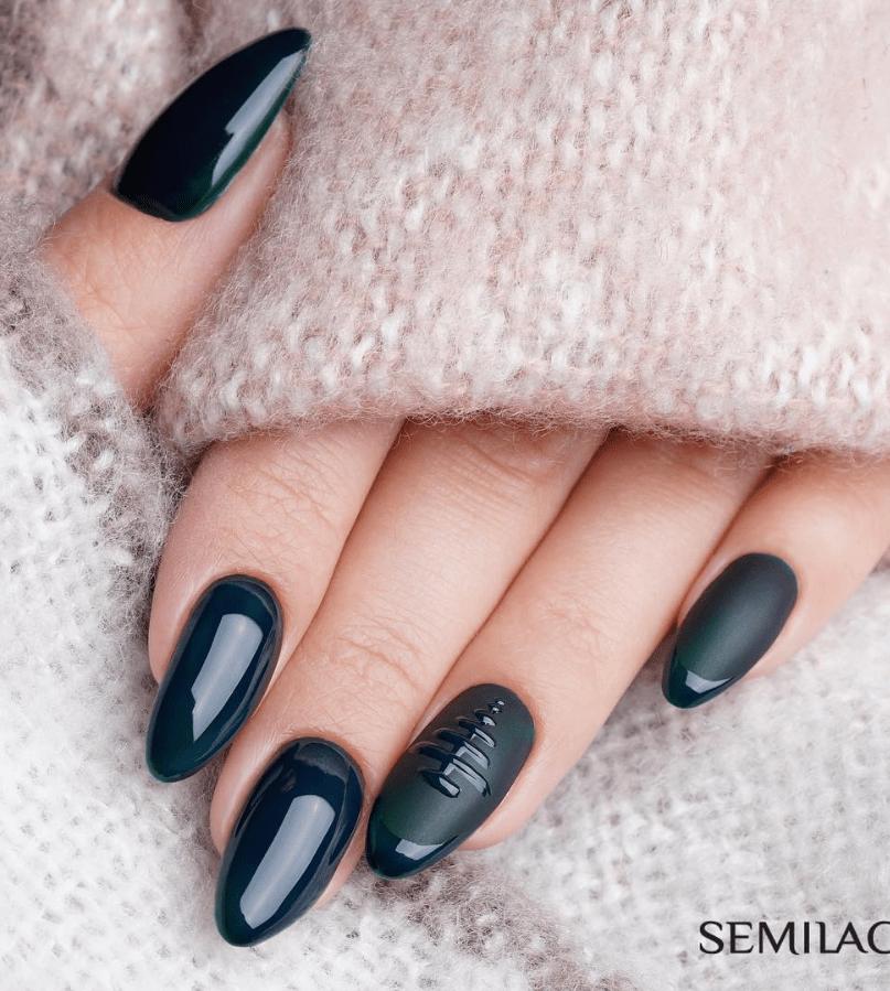 image9-2 | Модные идеи дизайна на овальные ногти