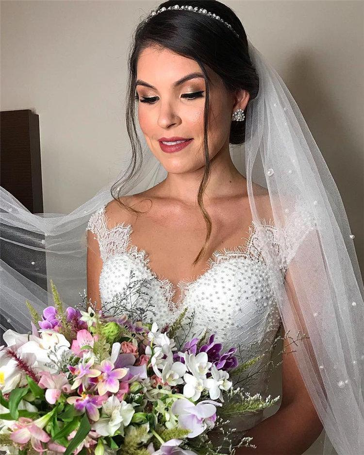 image15-2   70+ свадебных причесок 2019