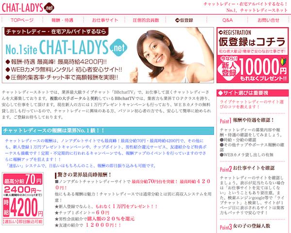 ChatLady.netは主婦でも稼げるチャットサイト