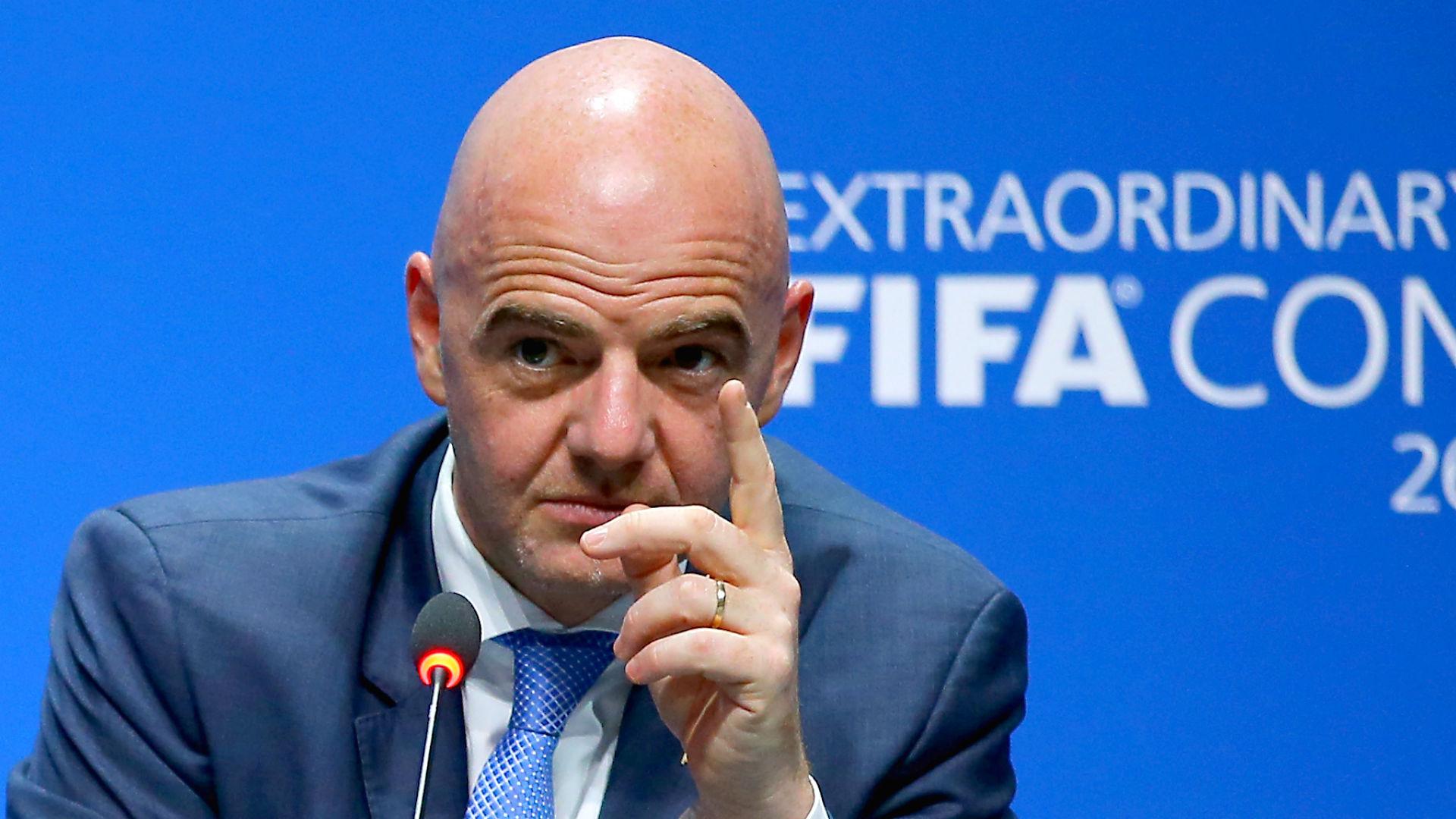 Gianni Infantino presidente de la FIFA