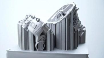 Porsche crea una carcasa de motor eléctrico con una impresora 3D: Prototipo para producción en pequeñas series