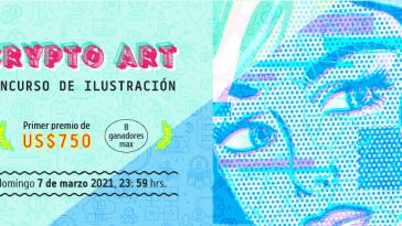 """Se presenta la primera edición del """"Concurso se Ilustración Digital 'Crypto Art'"""