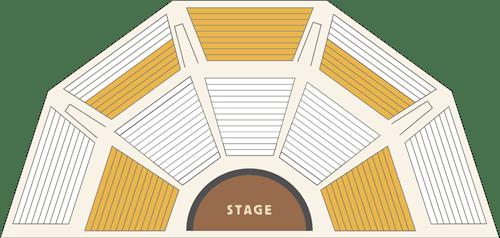 アリイ・ルアウの座席表