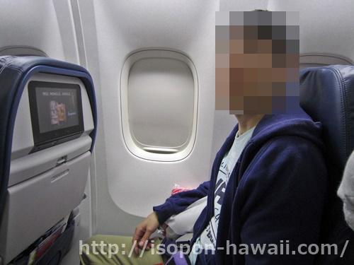 ハワイ旅行でデルタ航空を使った感想(セントレア発エコノミー)