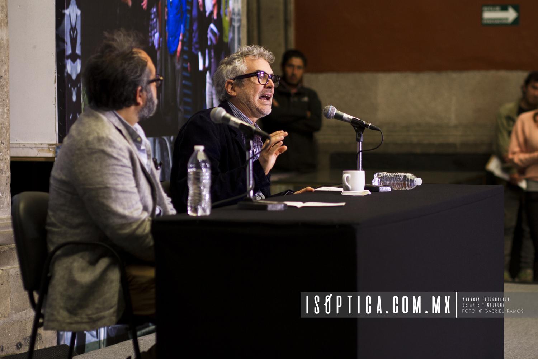 Alfonso Cuaron_Conferencia de Prensa Roma_Foto Gabriel Ramos_Isoptica