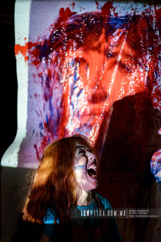 Presenta Itzher Razo: WILMA en el teatro el Milagro. Fotografias