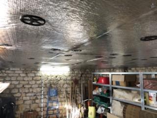 isolation de plafond de garage isorenov