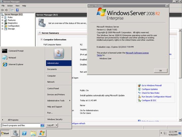 windows server 2008 r2 iso