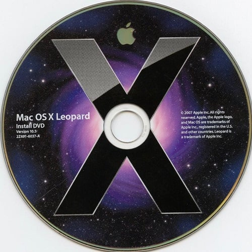 Mac OS X Leopard 10.5 ISO & DMG file Direct Download 1
