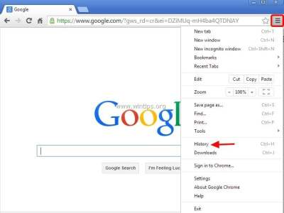 How to delete auto-fill entries in Google Chrome