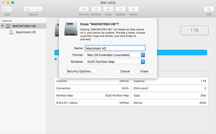How to Clean Install Mac OS using a USB drive on Mac 3