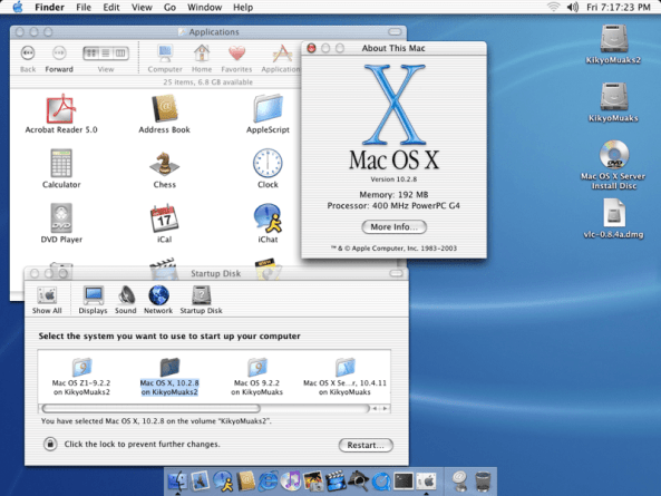 Download Mac OS X 10.3 Panther full version for free