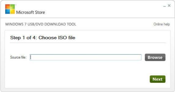 How do i create a window 7 bootable usb drive