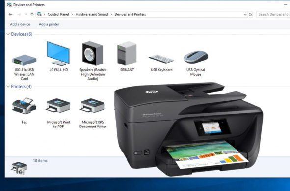 How to fix common printer problems after window 10 update