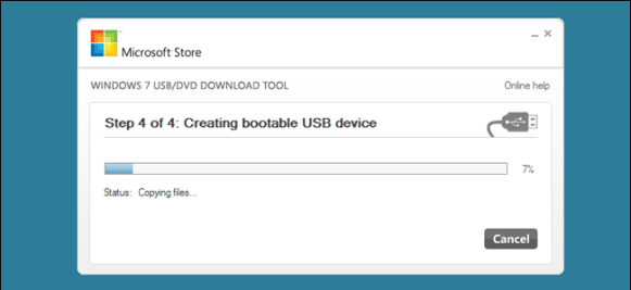 How to make a pen drive bootable with Windows 7