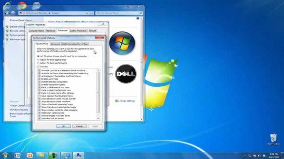 Speed up a Windows 7 PC