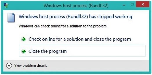 Solved - Windows host process (Rundll32) HIGH CPU usage