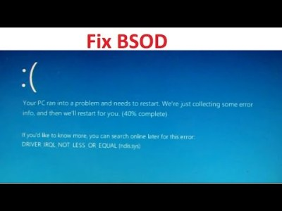 Fixed: System Thread Exception Not Handled Blue Screen Error