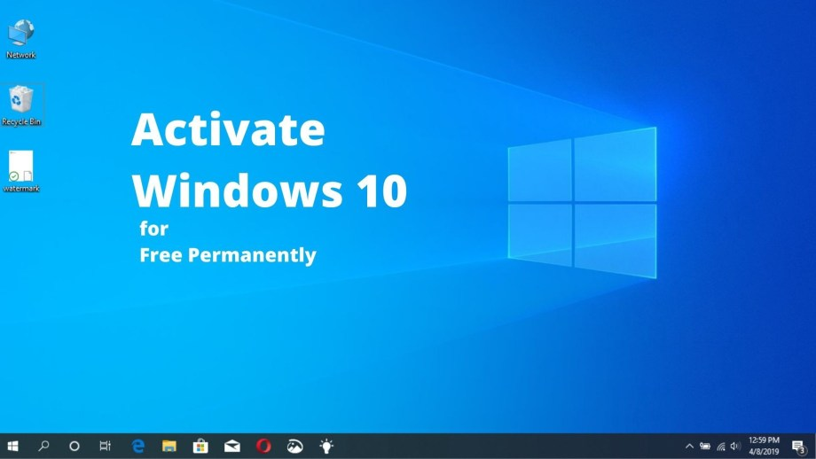 How to Permanently Activate Windows 10 Free