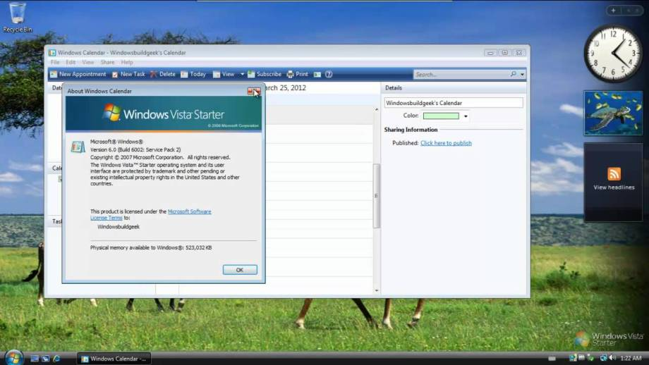 Where can you download Windows Vista Starter ISO for free