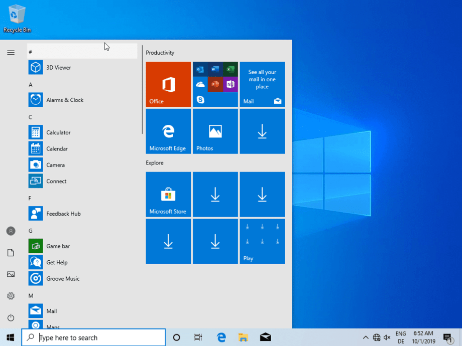 Where can you download Windows 10 1909 for free