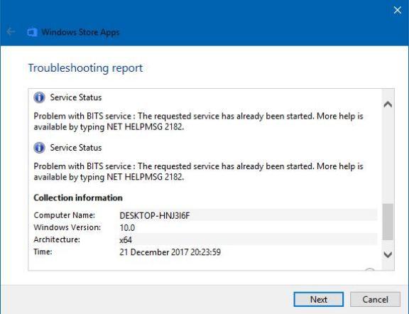How to solved: NET HELPMSG 2182 Error