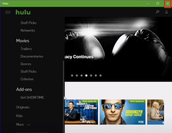 Fixed: Hulu error code RUNUNK13 1