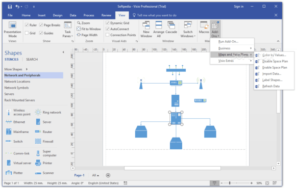 You can download Microsoft Visio 2016 for free