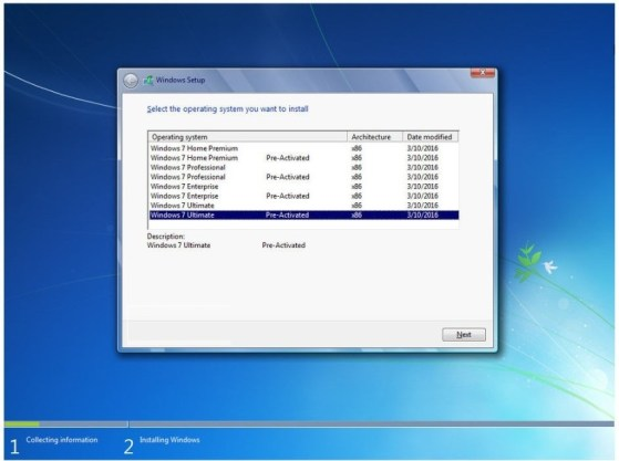 You can download Windows 7 All in One for free