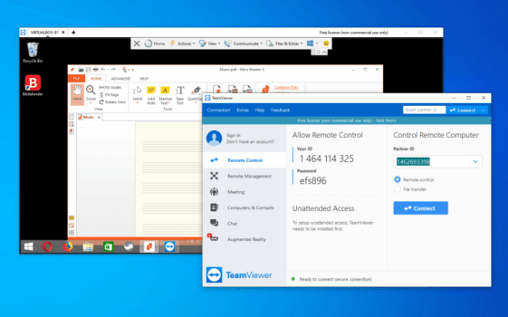 You can download TeamViewer 15