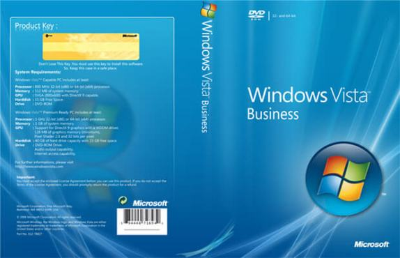 You can download Windows Vista Business Edition ISO for free