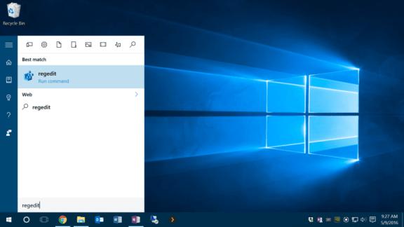 Removing app shortcut arrows on the Windows 10 desktop - Complete Steps 2