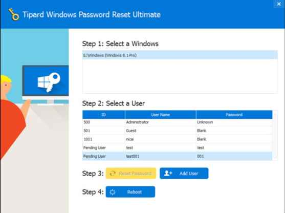 How to download Tipard Windows Password Reset Ultimate for free