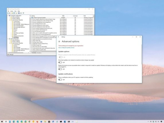 How to fix inaccessible grayed out settings on Windows 10