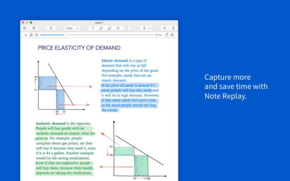 You can download Notability 4.1.3 Free for Mac