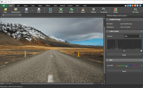 PhotoPad Professional 7 for Mac Download Free 1