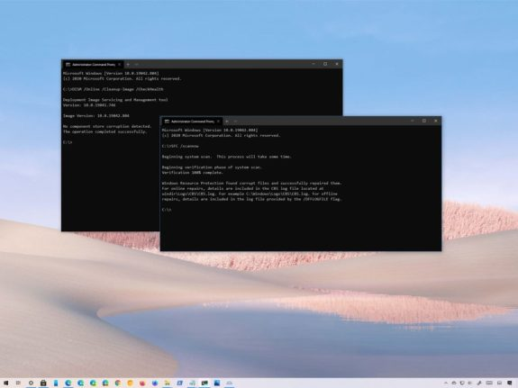 How to use DISM command tool to repair Windows 10 image