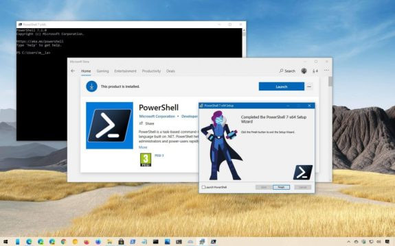 Installing PowerShell on Windows - PowerShell
