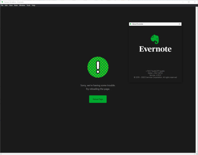 Fixed: Evernote App Not Opening or Not Working In Windows 10 1