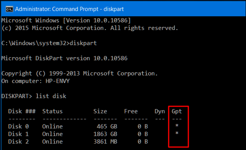 How to Check if a Disk Drive is GPT or MBR in Windows 10 1