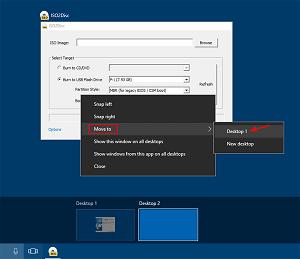 Move Windows within Virtual Desktops on Windows 10