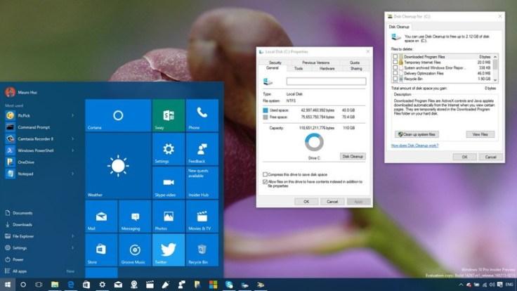 How to delete the Windows. old folder using Storage sense settings in windows 10