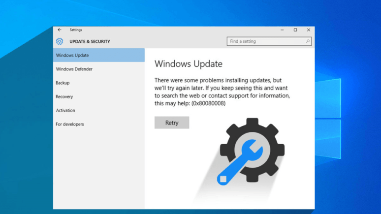 Fixed: Windows 10 update error 0x80080008 once and for all 1