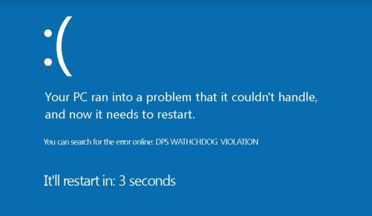 Fixed - DPC_WATCHDOG_VIOLATION error 0x00000133 on Windows 10 2