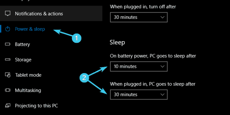 Fixed: Computer not going to Sleep in Windows 10 - Complete Guide 3