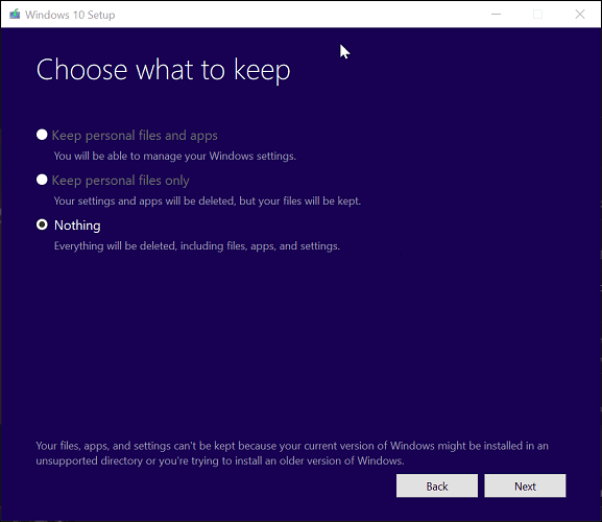 How to Perform a Windows 10 Repair Upgrade - Complete Guide 3