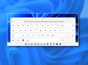How to Enable your Touch Keyboard on Windows 11 – Complete Guide